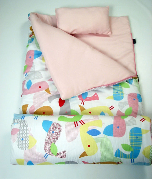 Sleeping Bag, Sweet Flamingo Love