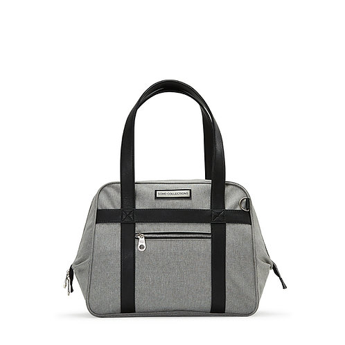 Bushwick Diaper Bag Tote, Gray