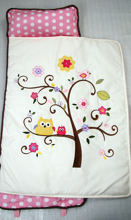 Nap Mat, Pink Cherry Blossoms Tree