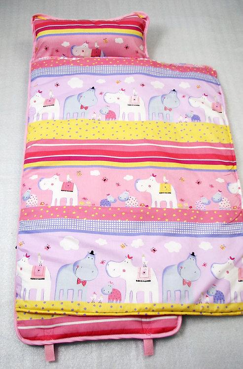 Nap Mat, Pink Hippo Family