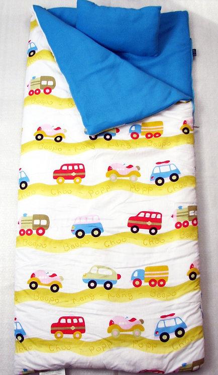 Sleeping Bag, Cars, Yellow