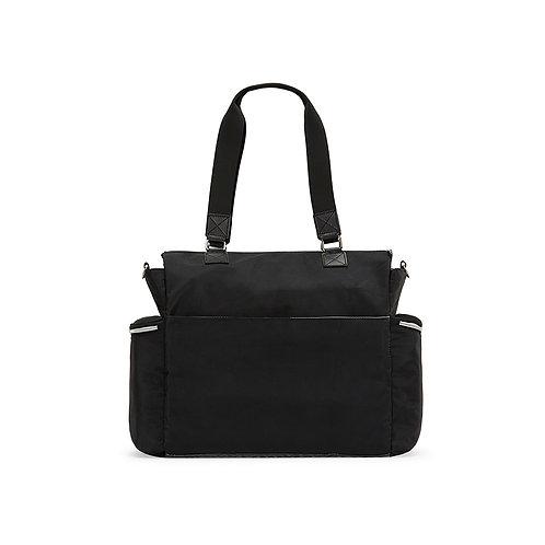 Times Square Diaper Bag, Granite Black