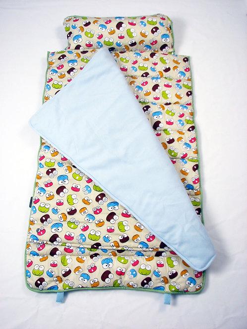 Extra Roomy Nap Mat, Froggy Love