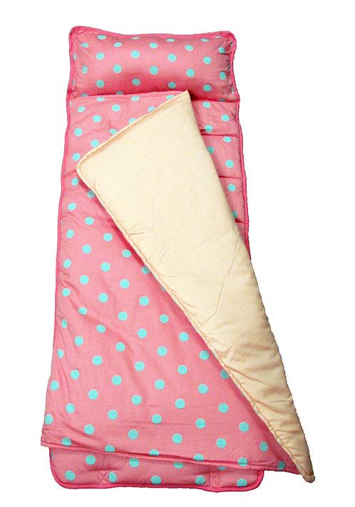 Nap Mat, Pink Aqua Dots