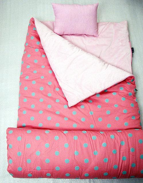 Sleeping Bag, Pink Aqua Dots