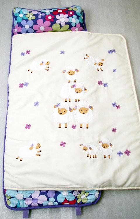 Nap Mat, Lavender Woolly Sheep