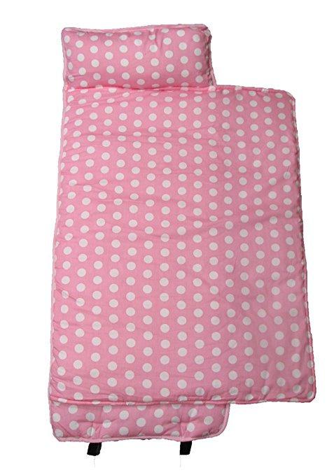 Nap Mat, Big Pink & White Dots