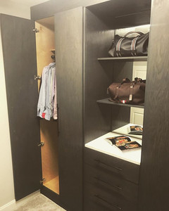 Quick snapshot of our recent closet reno