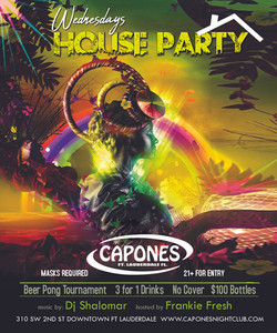 house party floweres