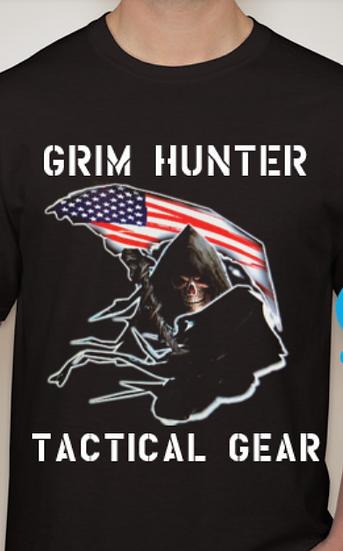 Grim Hunter Tactical Gear Logo T-shirt