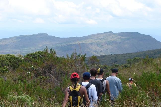 Caminhada no Plato do Tepequem - Roraima