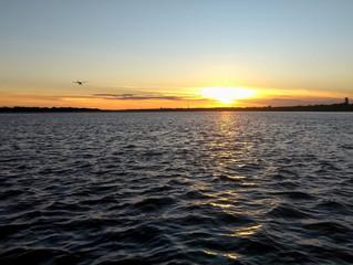 Último pôr-do-sol de 2018 - Passeio de barco - Tocatur - 31/12/2018