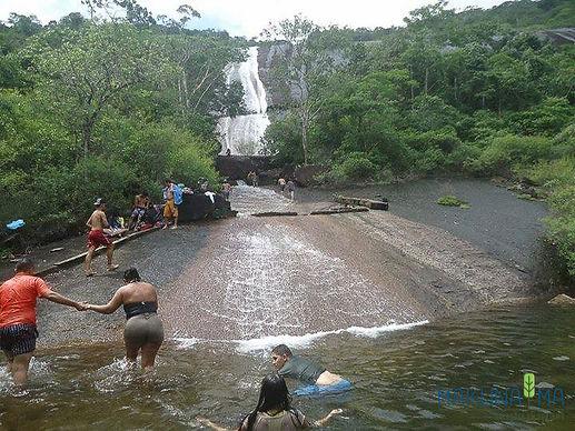 Tocatur cachoeira véu de noiva serra Gra