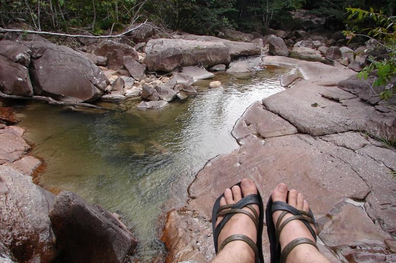 Cachoeira do Barata - Serra do Tepequem