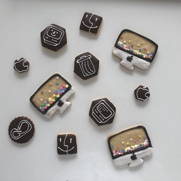 Apple-Cookies für eine Werbeagentur