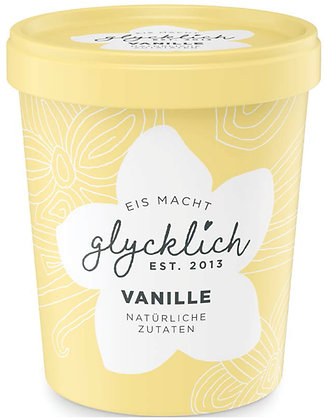 glycklich Eis Vanille