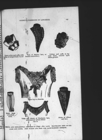 Lingerie for the Godey's Woman, 1887