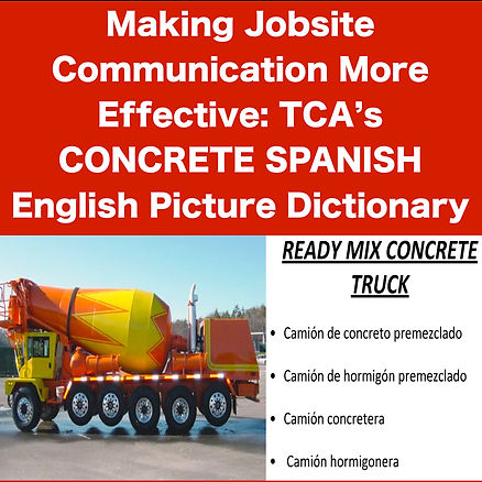 Spanish Dictionary for Concrete