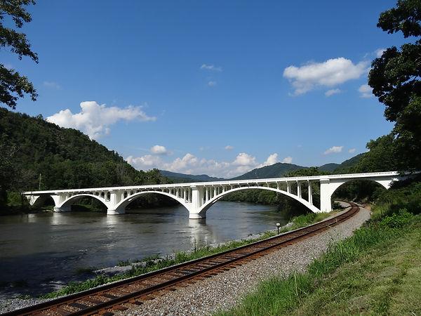 Precast Bridge at Wolf Creek