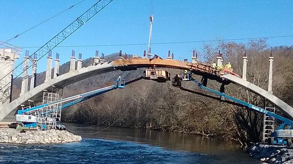 Precast Wolf Creek Bridge