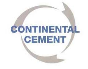Continental Cement sponsorship logo