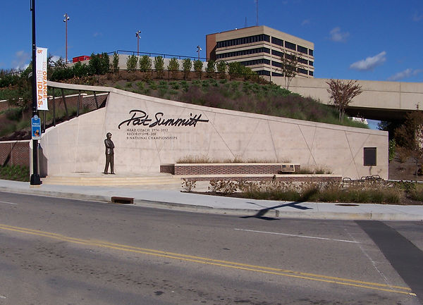 Pat Summitt Feature Wall for Best Specialty Concrete Project