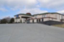 Best Finishing – Commercial Winner 2   Comfort Inn- Pulaski  Mid South Concrete Inc.  New South Concrete