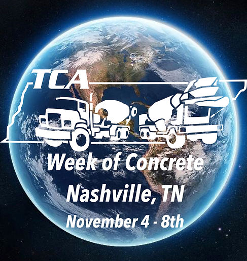 TCA Week of Concrete