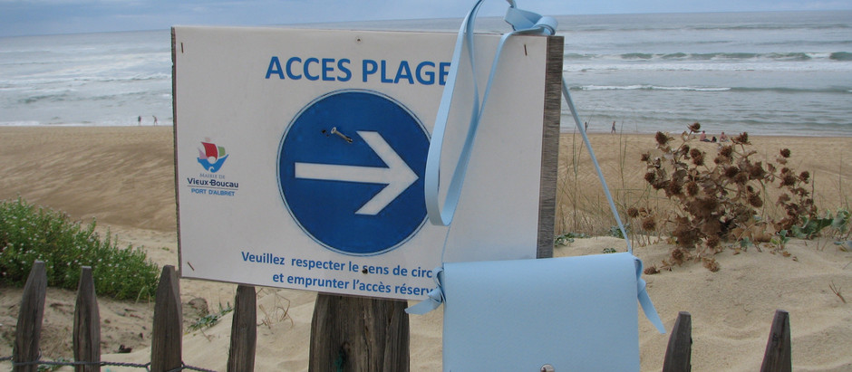 Bi Bizi à la plage...