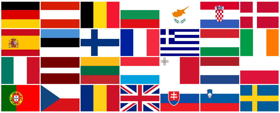 Europe drapeaux