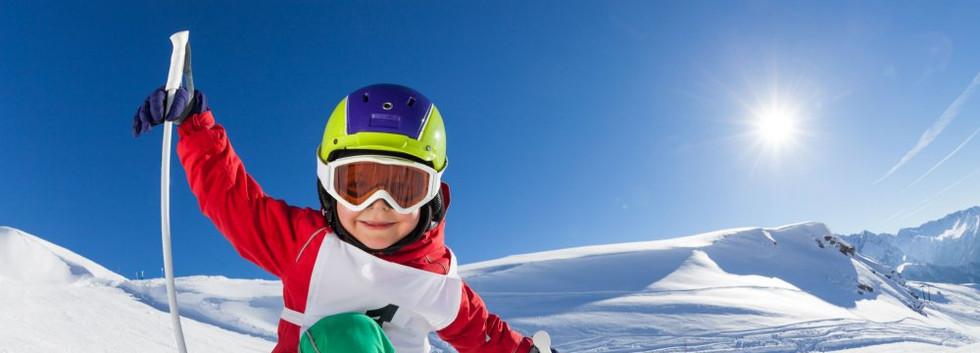 Enfant à la neige