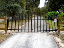 Aluminum Single Swing Gate