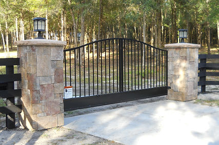 A custom Steely Access System Gate