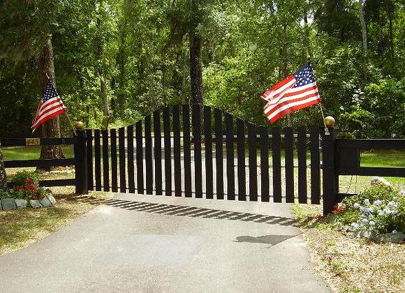 Five Single Gate System Plan