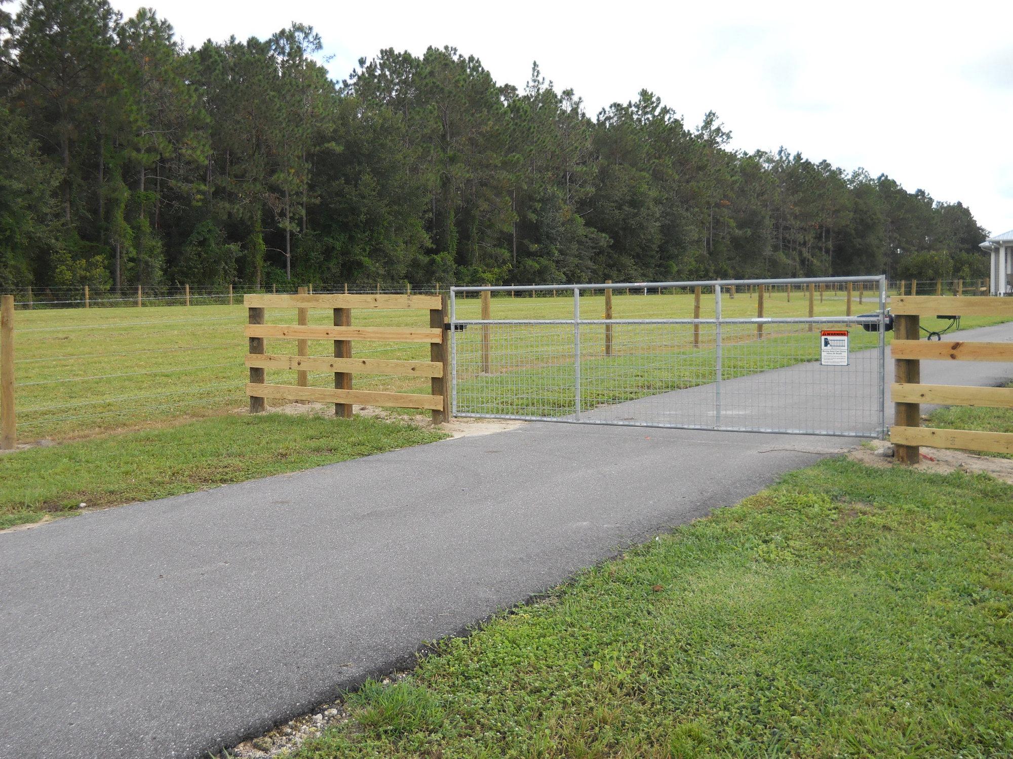 Steel welded wire Livestock Gate