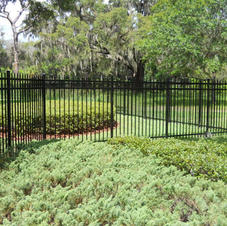 """5' Black Residential """"Abigail"""" by White Fence Company"""