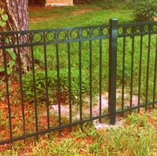 """42"""" Green """"Emily"""" with Rings by White Fence Company and upgraded"""