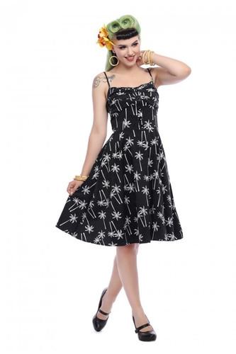 fc3d084f501b5 Collectif Fairy Vintage Palm Dress Black