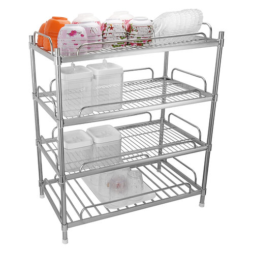 304 stainless steel shelf with 4 tier dishes and dishes Goda.vn