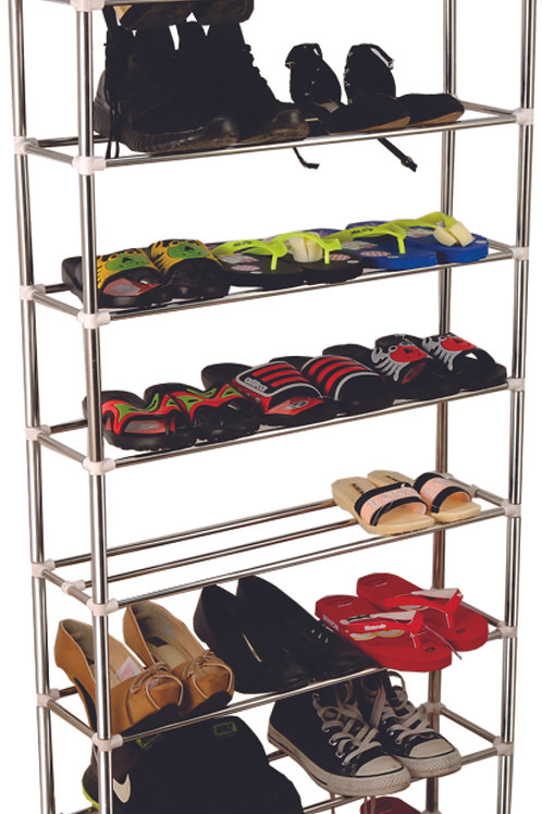 Stainless steel shoe rack Super durable 9 floors CB Tầng