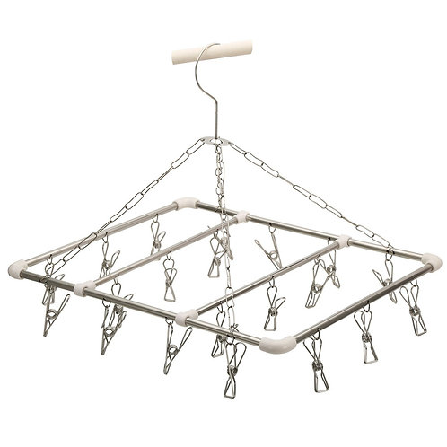 Children's clothes hanger 20 stainless steel clips 304 Goda