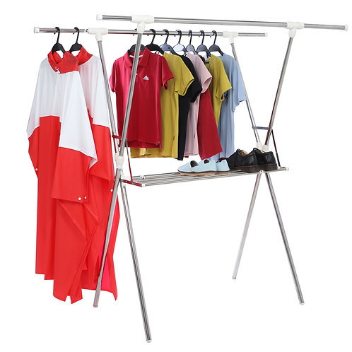 High quality stainless steel cross drying rack, with Prota . towel drying rack