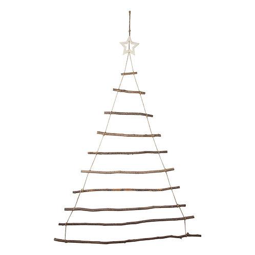 Hazel rope ladder Christmas tree