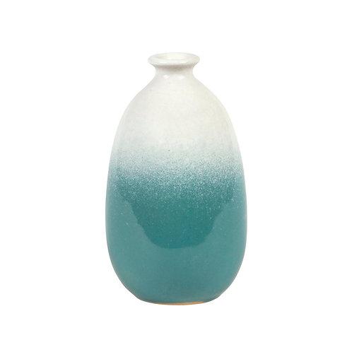 Ombre Glazed Vase