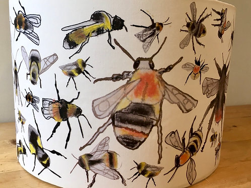 Fifty Bees Lampshade 30cm