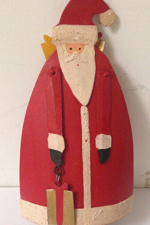Tin Santa Decoration