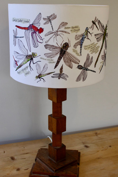 Dragonfly Study Lampshade 30cm