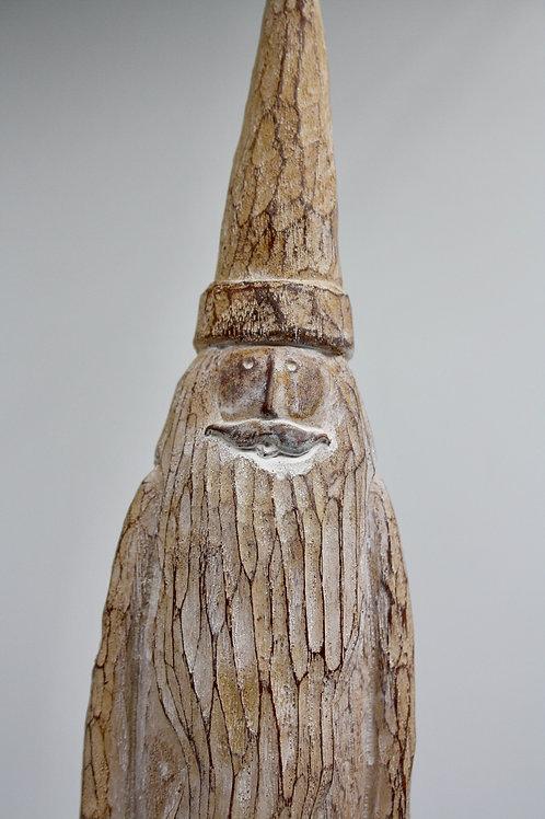 Tall Wooden Santa
