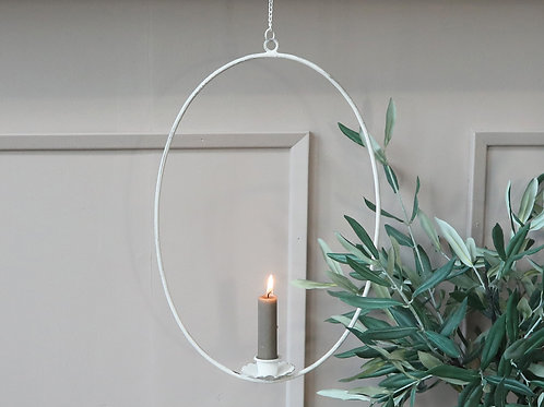 Hanging Wreath for candle