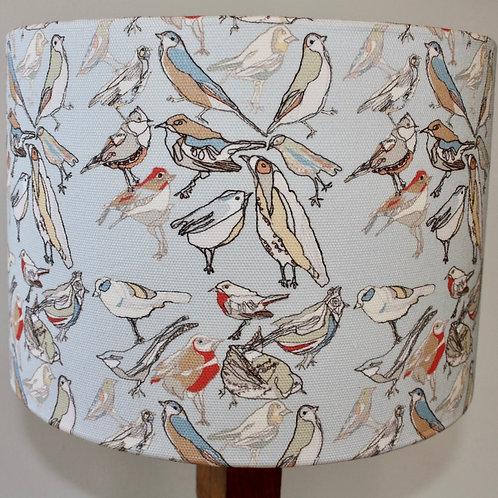 Bird Repeat lampshade 30cm